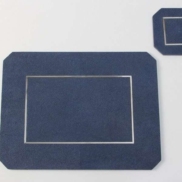 Nile Blue Shagreen Place mats by Forwood Design 5