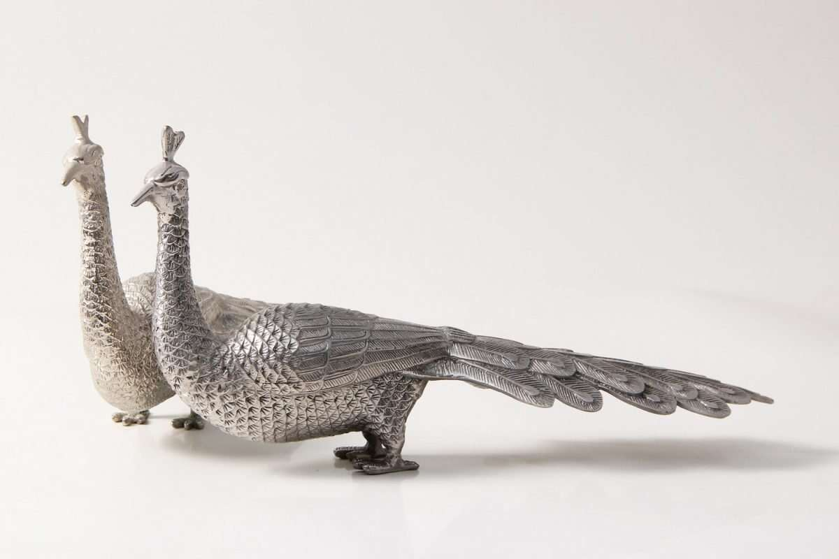 Peacock Dining table sculptures by Forwood Design 3