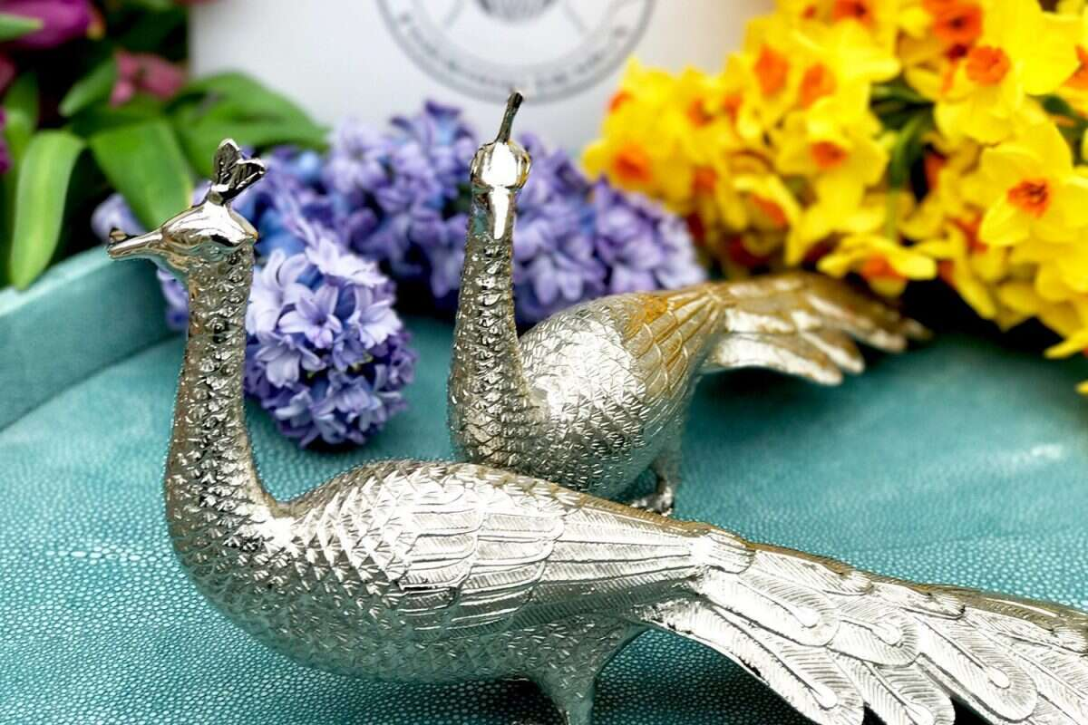 Peacock Dining table sculptures by Forwood Design 1