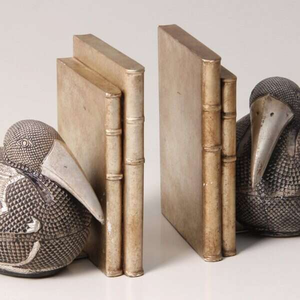 Pelican bookends 5