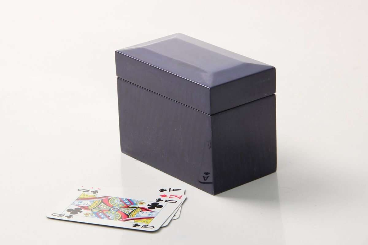 Playing Card Box in Periwinkle Blue 3