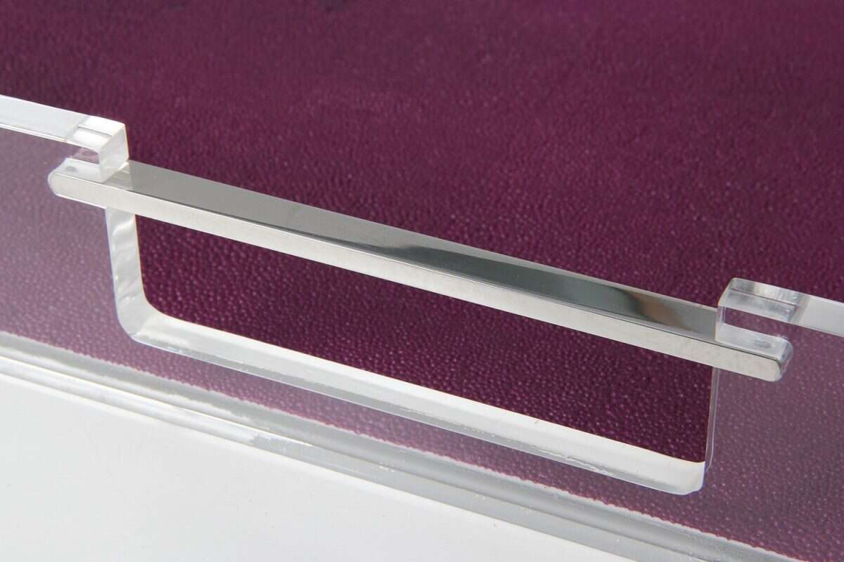 Acrylic Tray in Plum Shagreen by Forwood Design 3