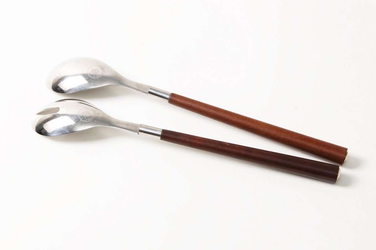 Serving & Salad Spoons set of 2 2