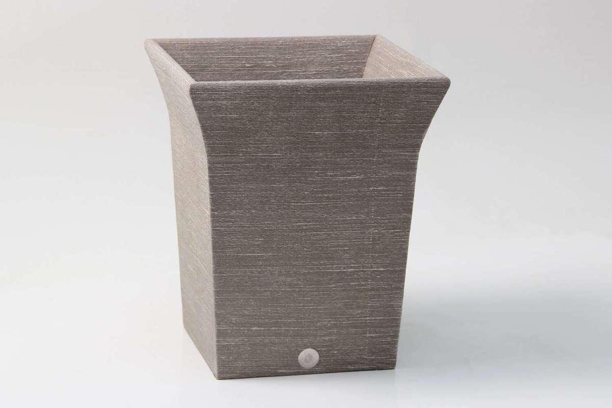 Tarka Waste Bin in Barley Silk by Forwood Design 2