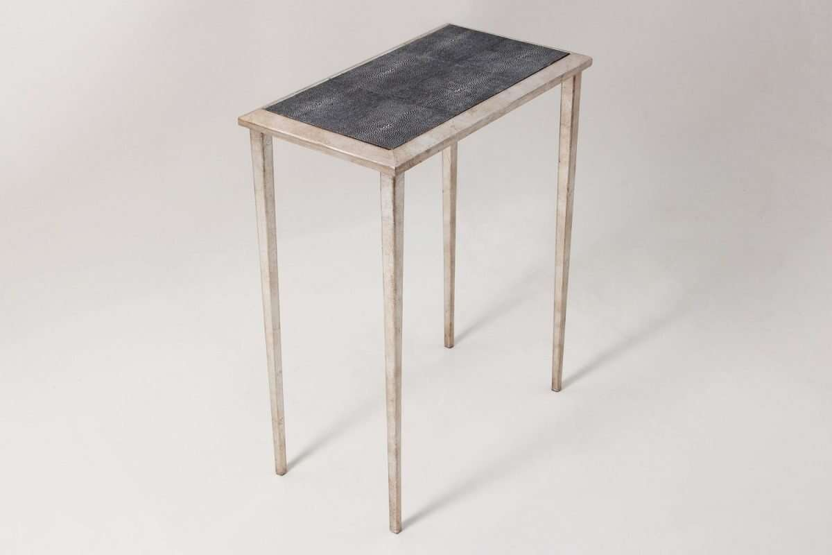 Clare Shagreen Lamp Table by Forwood Design 4