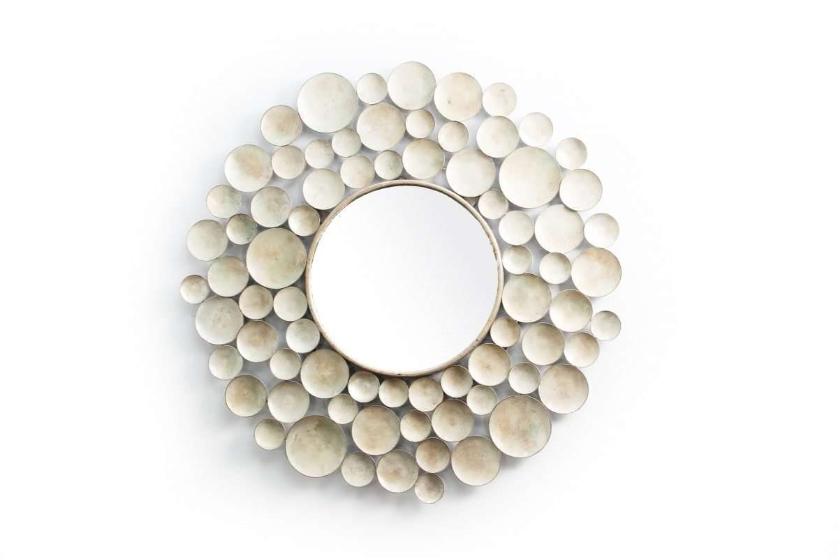 Sputnik Wall Mirror by Henry Forwood 5