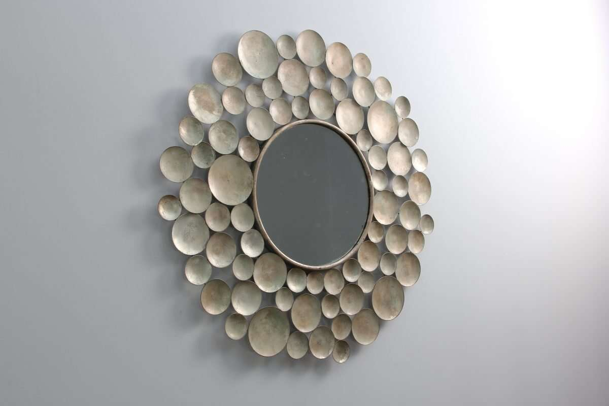 Sputnik Wall Mirror by Henry Forwood 4