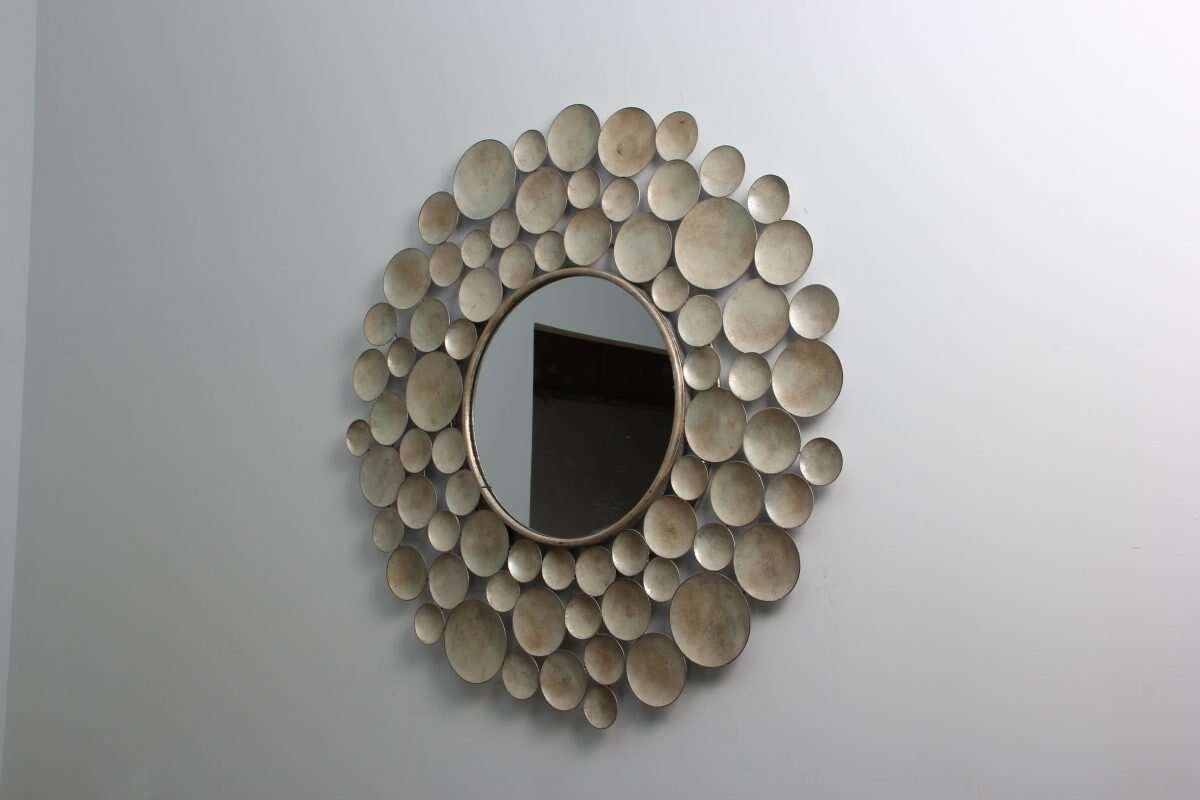 Sputnik Wall Mirror by Henry Forwood 3