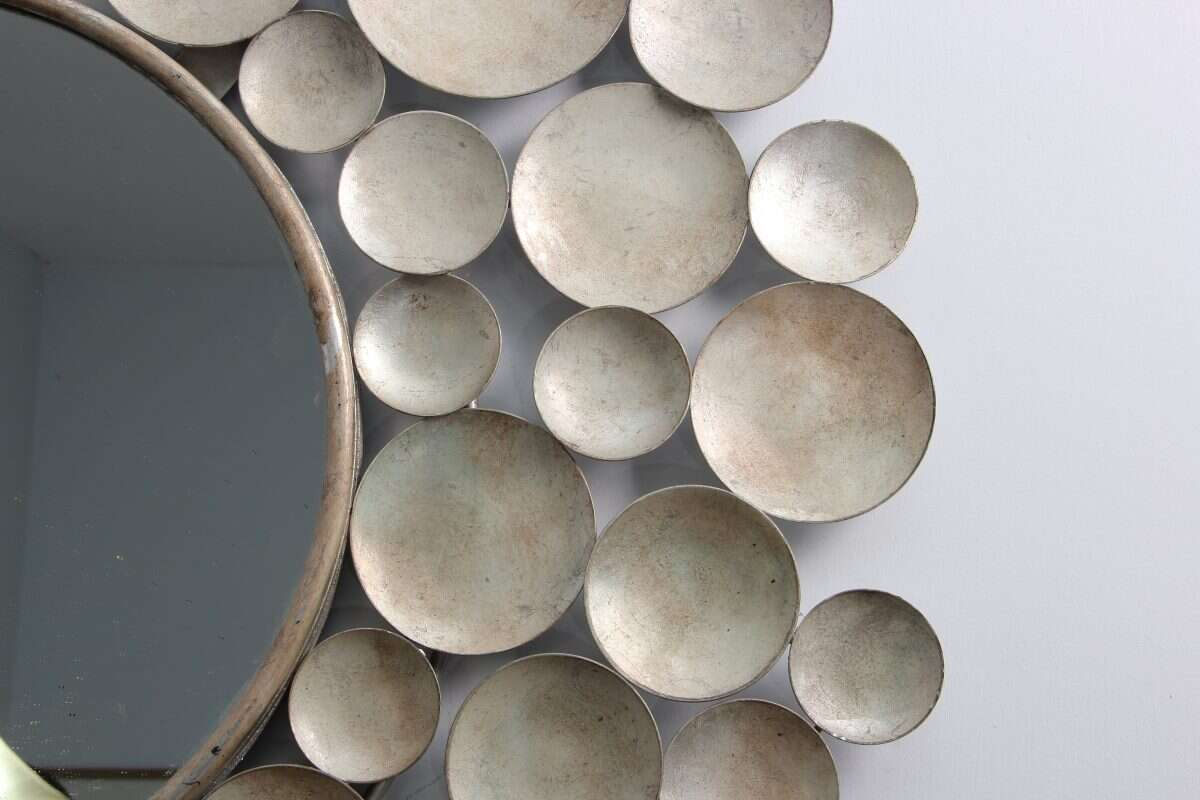 Sputnik Wall Mirror by Henry Forwood 2