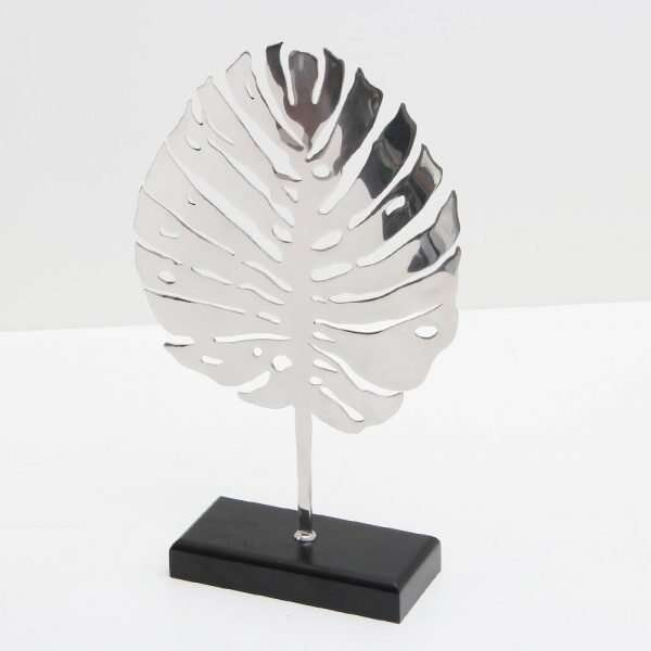 Stainless Steel Leaf Sculpture by Forwood Design 4