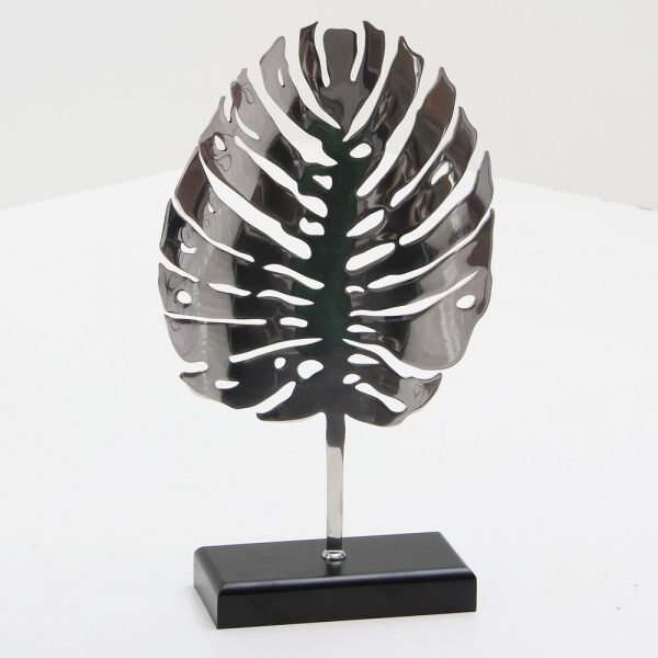 Stainless Steel Leaf Sculpture by Forwood Design 3