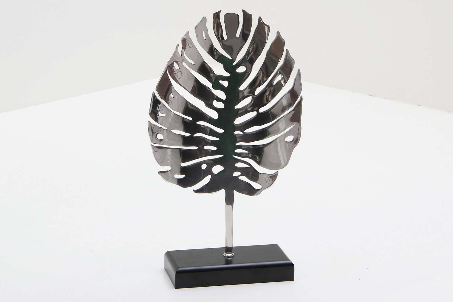Stainless Steel Leaf Sculpture Unique To Forwood Design