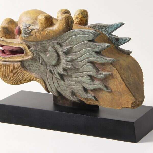 The 'Happy Dragon' Sculpture by Forwood Design 6