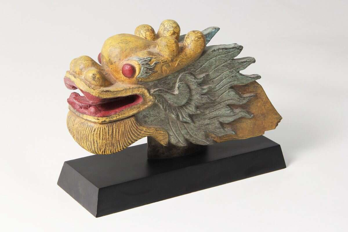 The 'Happy Dragon' Sculpture by Forwood Design 3
