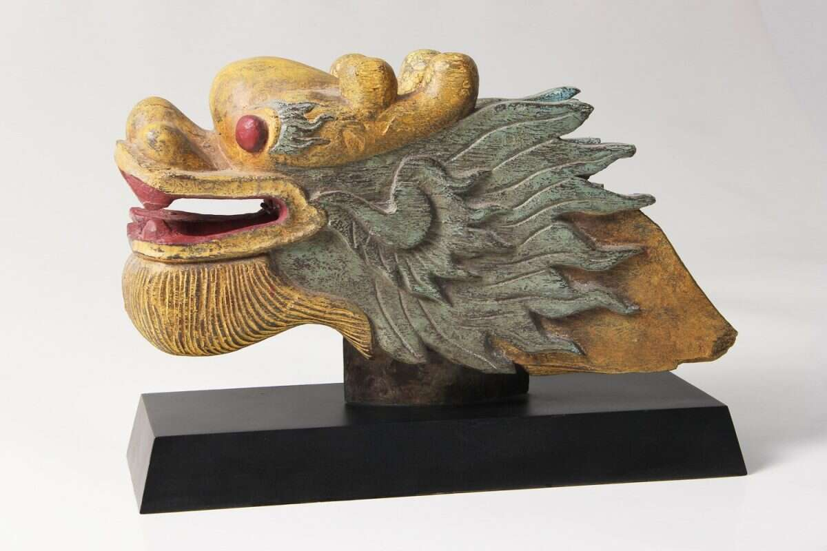 The 'Happy Dragon' Sculpture by Forwood Design 2