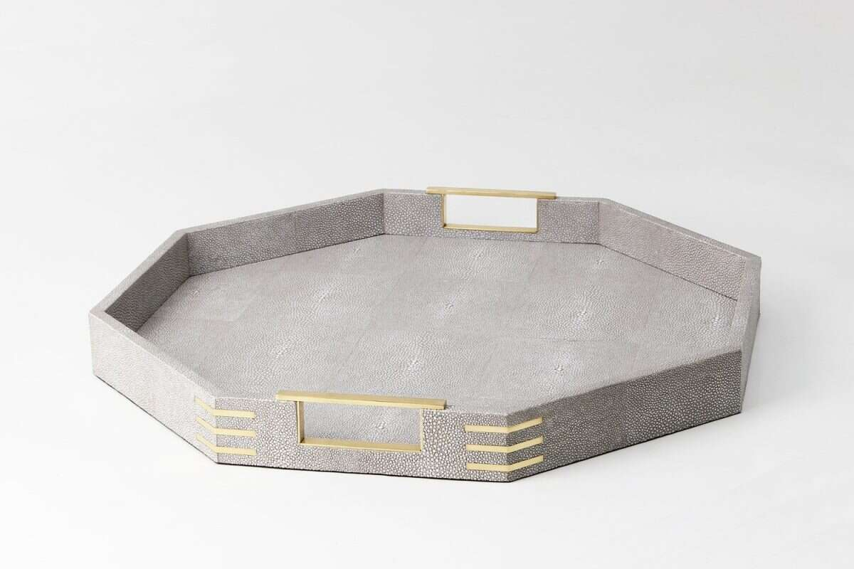 Christie Octagonal Serving Tray by Forwood Design