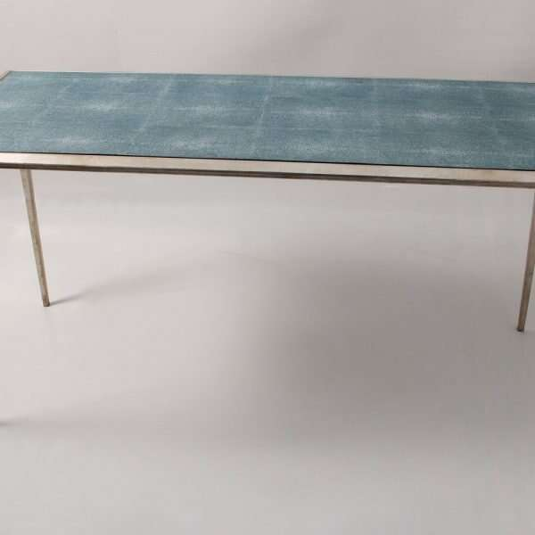 Ellie Shagreen Console Table 5