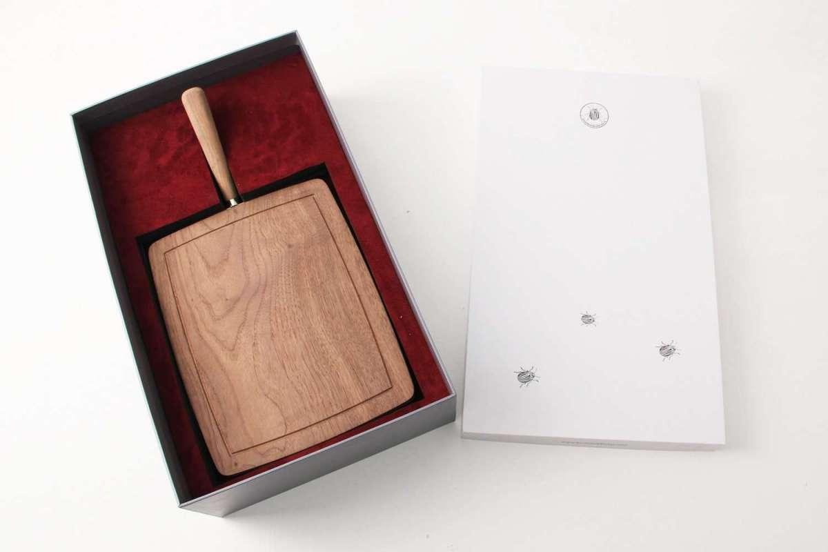 Walnut Cheese Board by Forwood Design 1