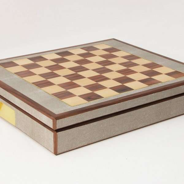 Games Compendium in Barley Shagreen by Forwood Design 6