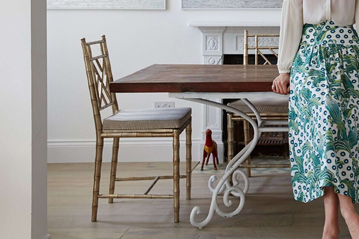 Cora Dinning Chair in Antique Silver by Forwood Design 6