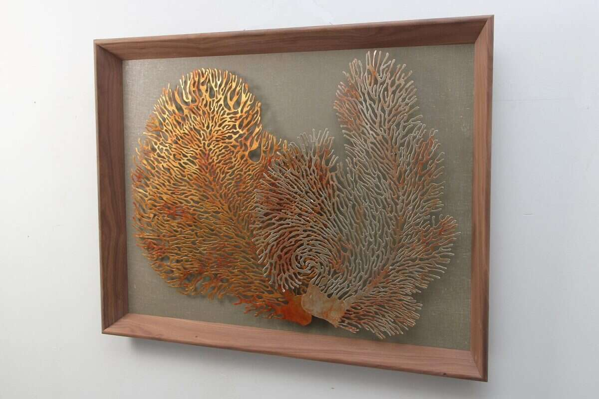 Coral Wall Art Sculpture by Henry Forwood 2