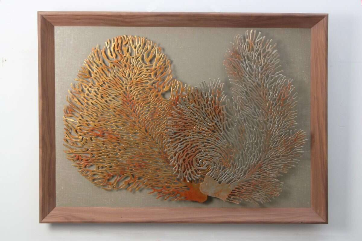 Coral Wall Art Sculpture by Henry Forwood 3