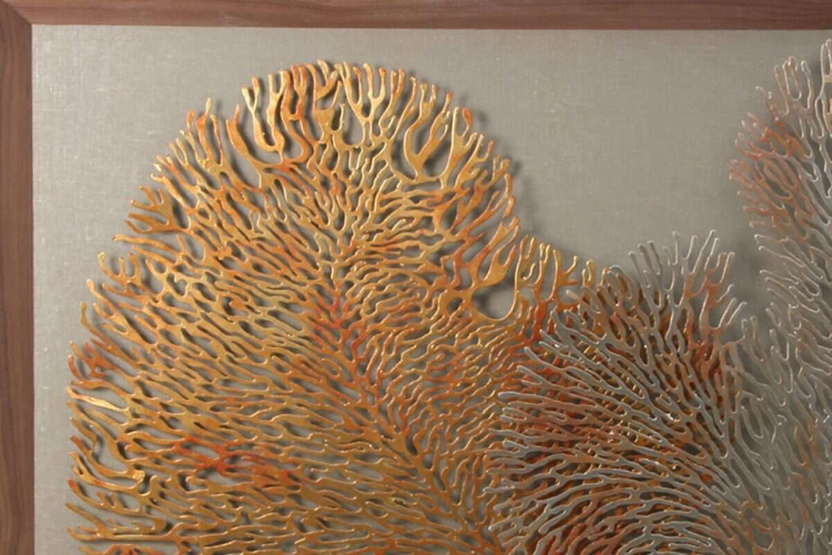 Coral Wall Art Sculpture by Henry Forwood 6