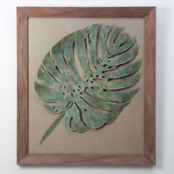 leaf-wall-art-sculpture 1