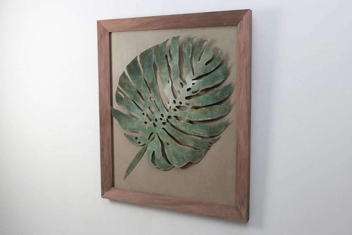 leaf-wall-art-sculpture 2