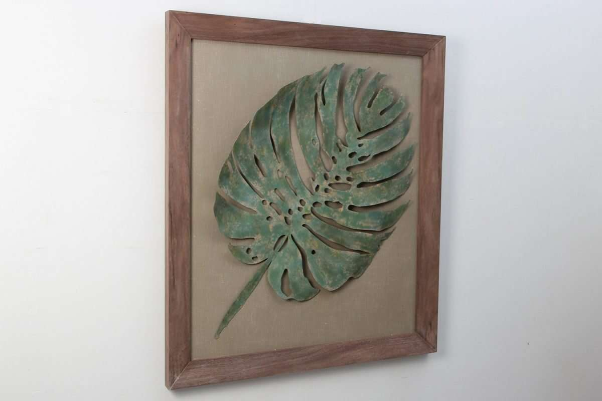 leaf-wall-art-sculpture 3