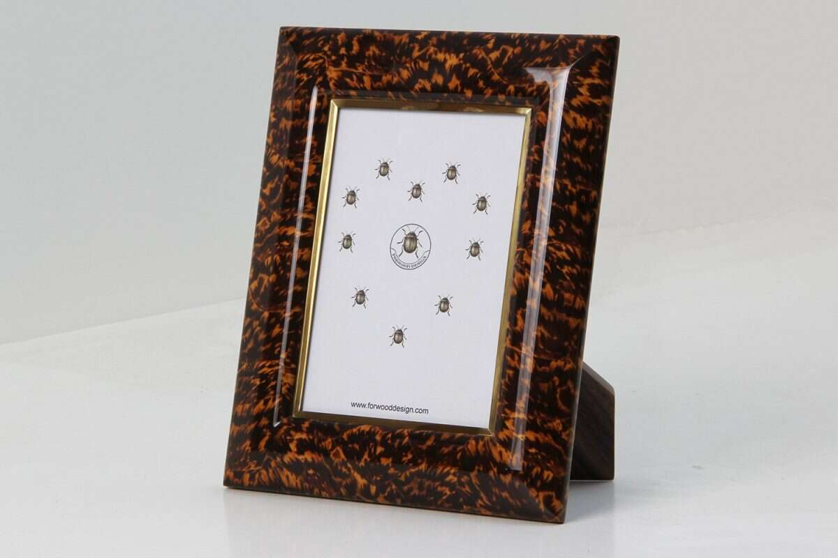 Bella Photo Frames in Tortoiseshell by Forwood Design 9