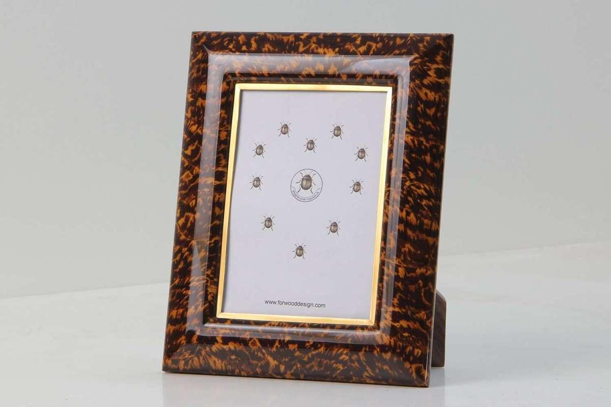 Bella Photo Frames in Tortoiseshell by Forwood Design 3