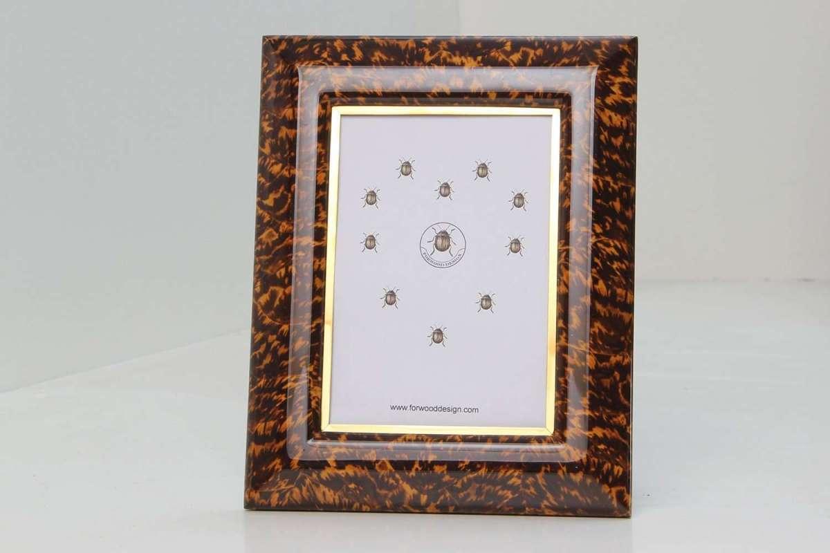 Bella Photo Frames in Tortoiseshell by Forwood Design 2