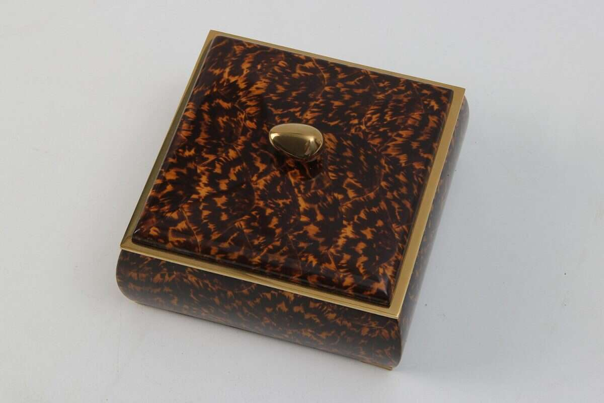 Sophie Box in Tortoiseshell by Forwood Design 5