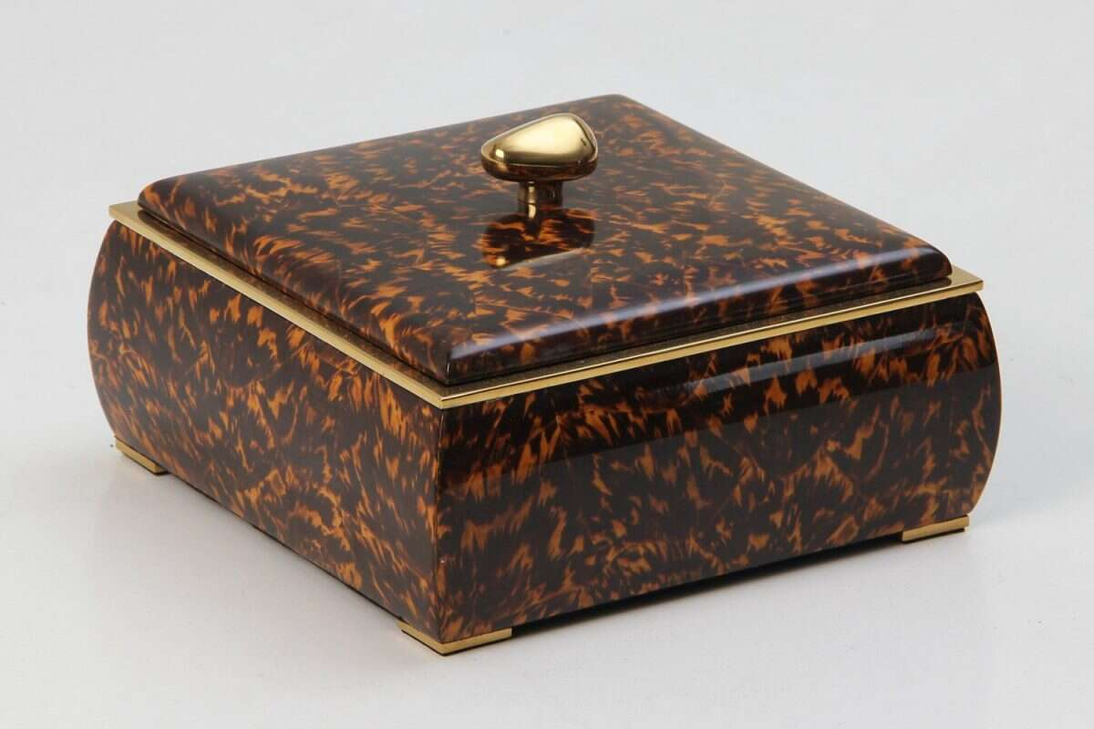 Sophie Box in Tortoiseshell by Forwood Design 4
