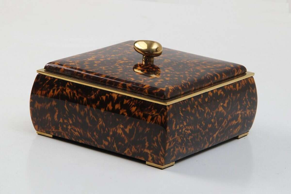 Sophie Box in Tortoiseshell by Forwood Design 3