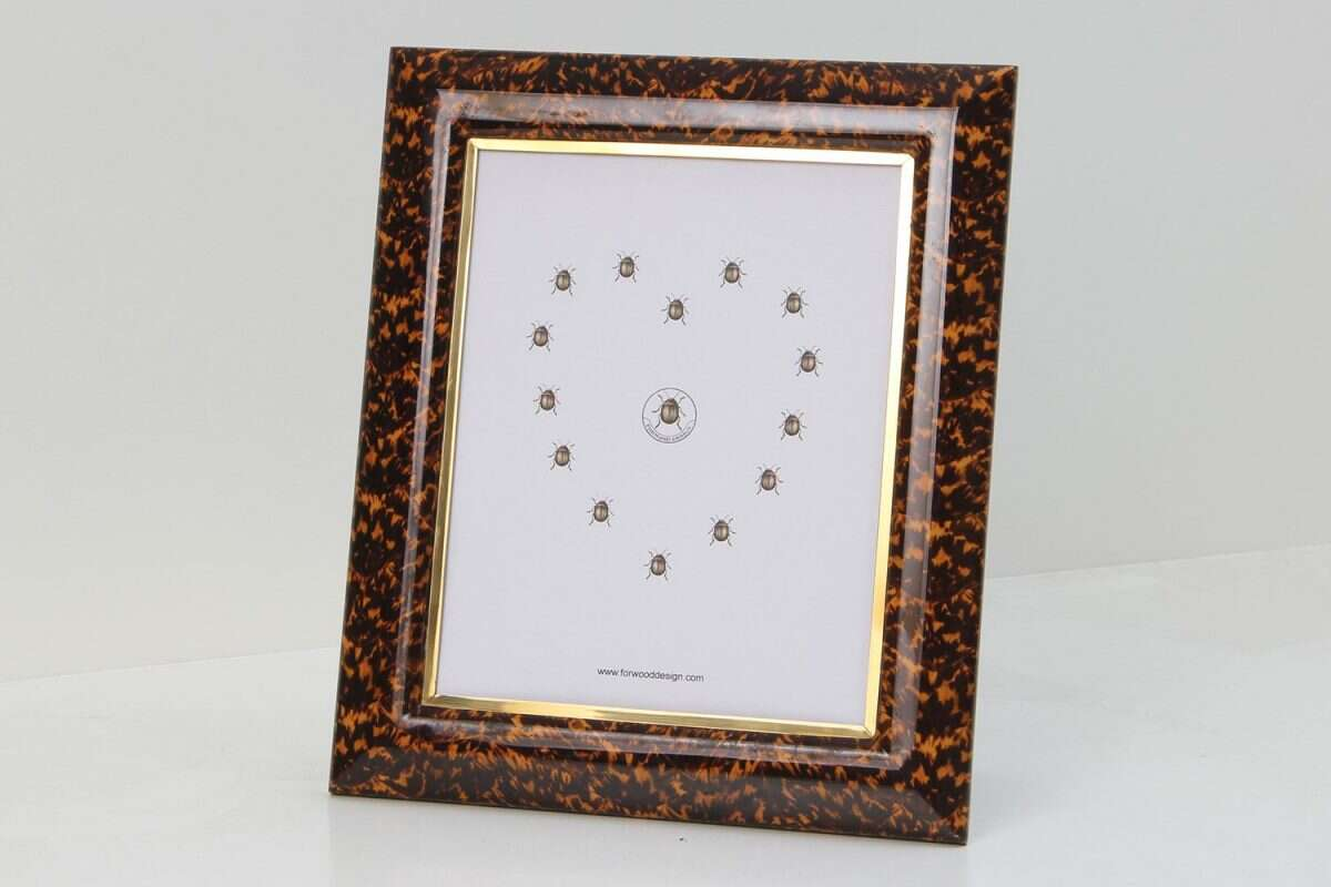 Bella Photo Frames in Tortoiseshell by Forwood Design 6