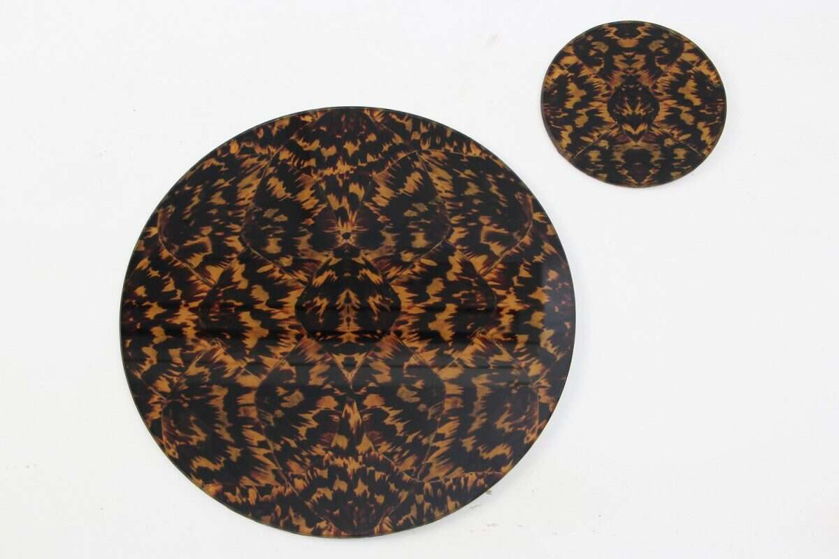Tortoise shell Placemats 5