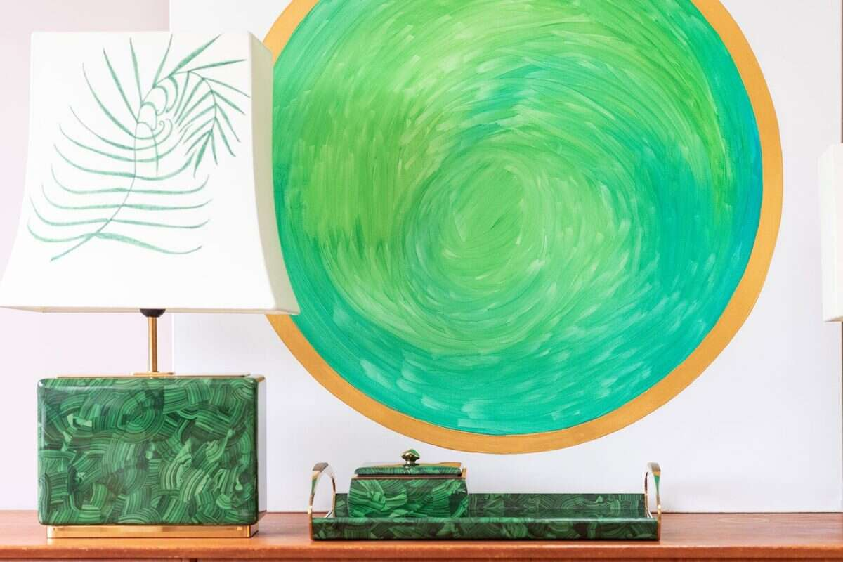 'Green Planet' Painting by Kitty Arden 4