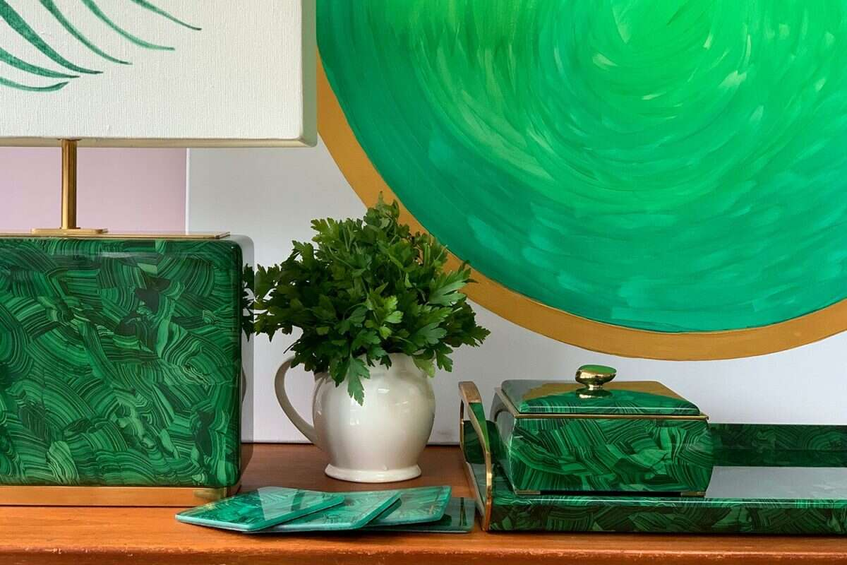 'Green Planet' Painting by Kitty Arden 1