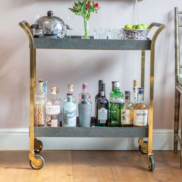 Drinks trolley Luxury bar cart
