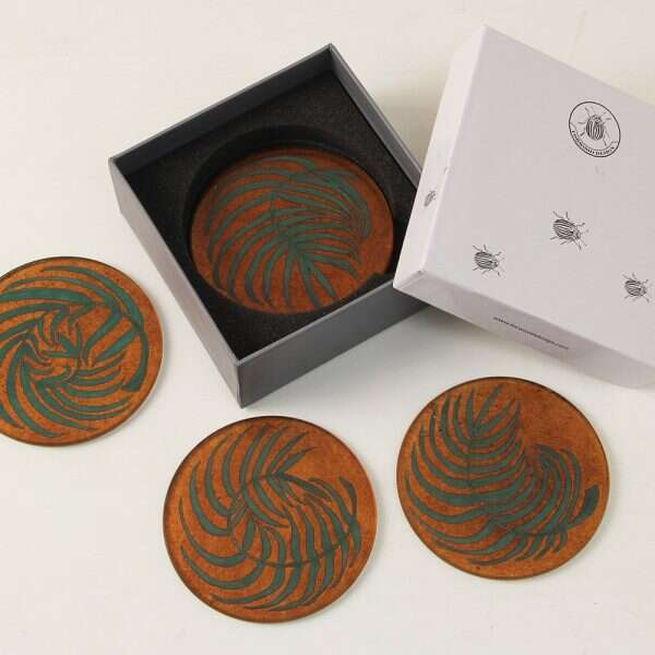 Kitty Arden's Fern Coasters for Forwood Design 7