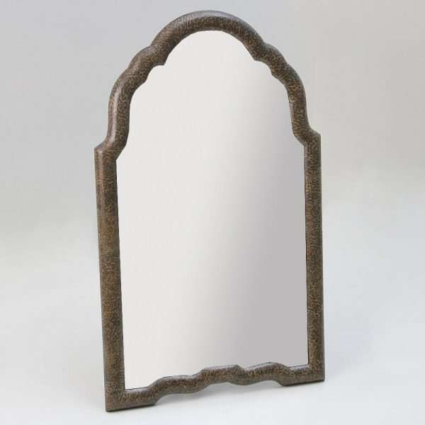 Arden Dressing Table Mirror in Silver Eggshell by Forwood Design 1