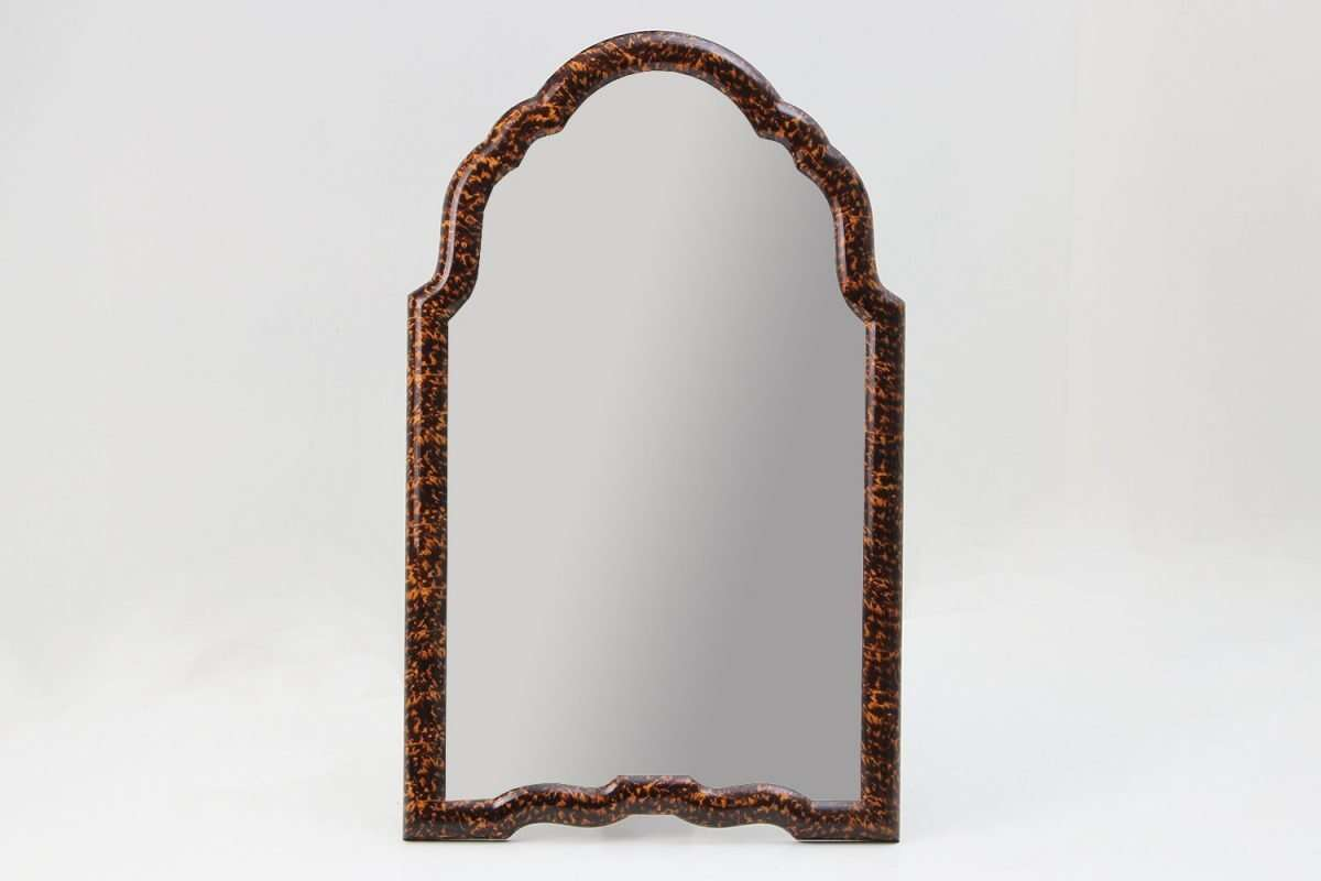 Arden Dressing Table Mirror in Tortoise Shell by Forwood Design 1