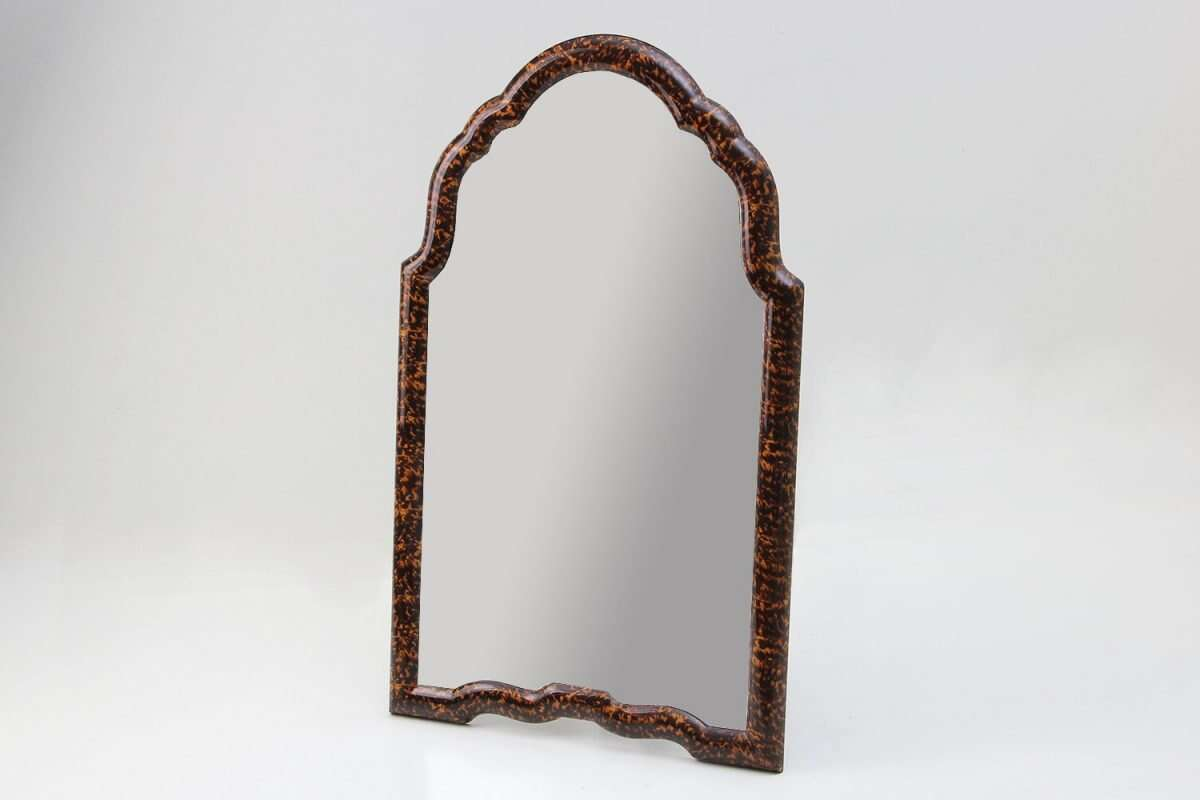 Arden Dressing Table Mirror in Tortoise Shell by Forwood Design 4
