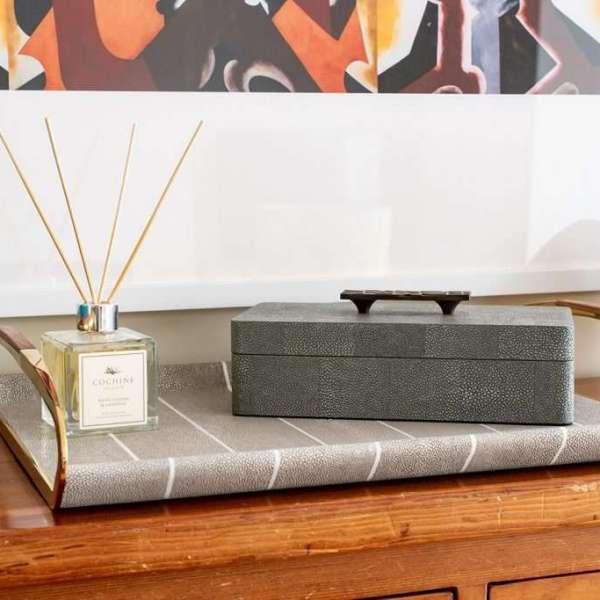 Remote control storage box - luxury drinks tray